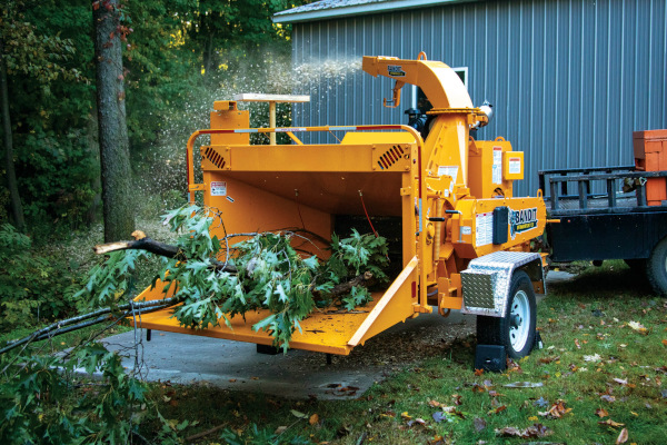 Bandit Industries Intimidator™ 12X - Towable   DRUM Style Hand-Fed Chipper for sale at Rippeon Equipment Co., Maryland