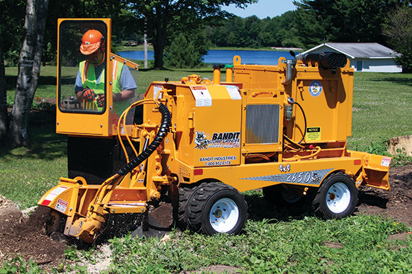 Bandit Industries | 2650 SERIES | Model 2650 - SELF-PROPELLED  STUMP GRINDER for sale at Rippeon Equipment Co., Maryland
