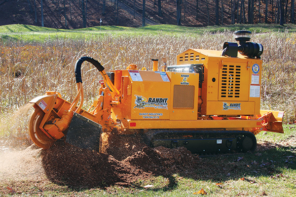 Bandit Industries 2900 - TRACK  STUMP GRINDER for sale at Rippeon Equipment Co., Maryland