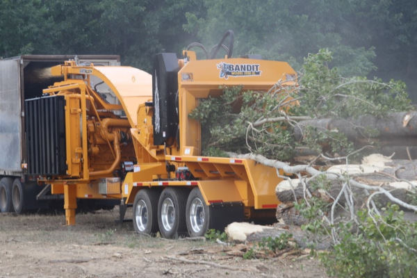 Bandit Industries | Whole Tree Chippers | 3590XL SERIES for sale at Rippeon Equipment Co., Maryland