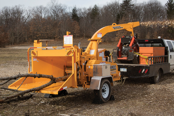 Bandit Industries INTIMIDATOR™ 12XPC - TOWABLE  DRUM STYLE HAND-FED CHIPPER for sale at Rippeon Equipment Co., Maryland