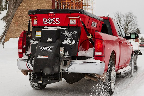 Boss Snowplow | Truck Equipment | VBX SPREADERS for sale at Rippeon Equipment Co., Maryland