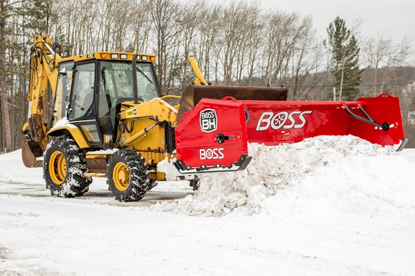 Boss Snowplow | Heavy Equipment | Backhoe Plows for sale at Rippeon Equipment Co., Maryland