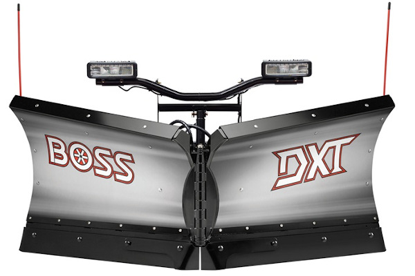 "Boss Snowplow | DXT Plows | Model 8'2"" Stainless DXT for sale at Rippeon Equipment Co., Maryland"