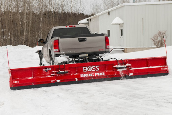 Boss Snowplow | Truck Equipment | Drag Pro for sale at Rippeon Equipment Co., Maryland
