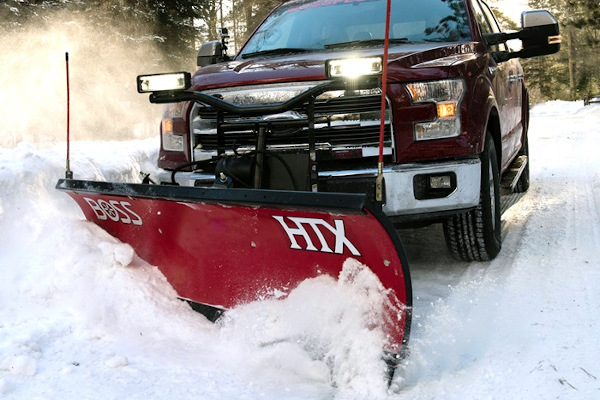 Boss Snowplow | Truck Equipment | HTX Plows for sale at Rippeon Equipment Co., Maryland