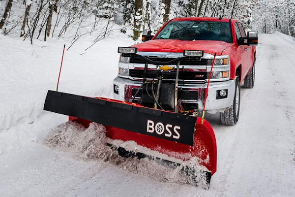 Boss Snowplow | Truck Equipment | Heavy-Duty Plows for sale at Rippeon Equipment Co., Maryland