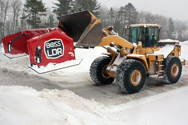 Boss Snowplow | Heavy Equipment | Loader Plows for sale at Rippeon Equipment Co., Maryland