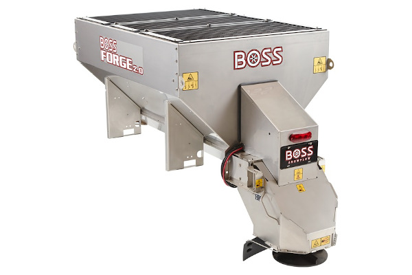 Boss Snowplow FORGE 1.5 Pintle Spreader for sale at Rippeon Equipment Co., Maryland