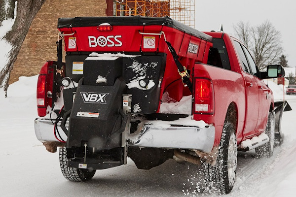 Boss Snowplow | Ice Control Equipment | VBX Spreaders for sale at Rippeon Equipment Co., Maryland