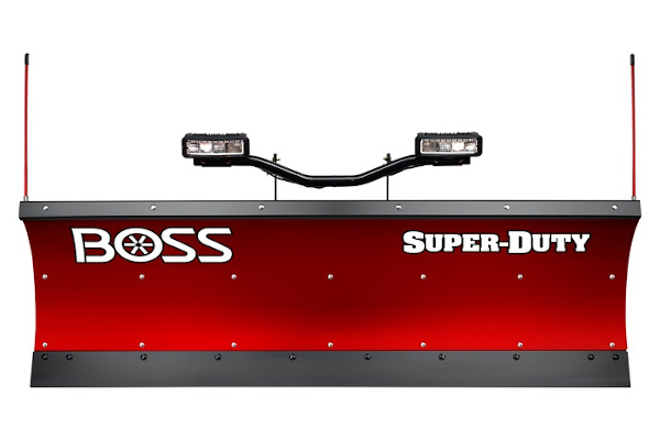 "Boss Snowplow | Super-Duty Plows | Model 8'0"" Super-Duty Poly for sale at Rippeon Equipment Co., Maryland"