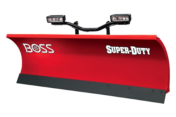 "Boss Snowplow | Super-Duty Plows | Model 8'0"" Super-Duty Steel for sale at Rippeon Equipment Co., Maryland"