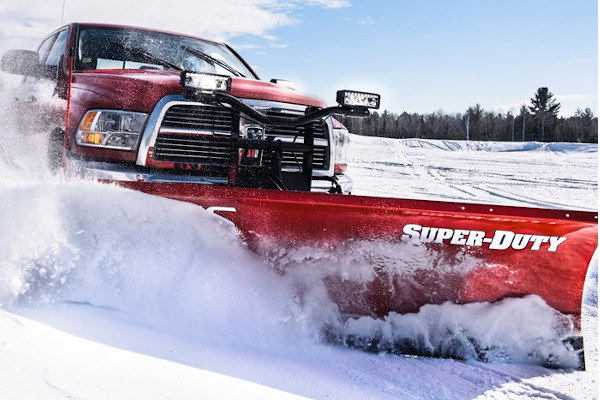 Boss Snowplow | Truck Equipment | Super-Duty Plows for sale at Rippeon Equipment Co., Maryland
