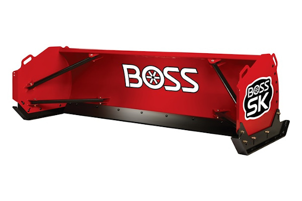 Boss Snowplow | Skid-Steer Box Plows  | Model SK 12 for sale at Rippeon Equipment Co., Maryland