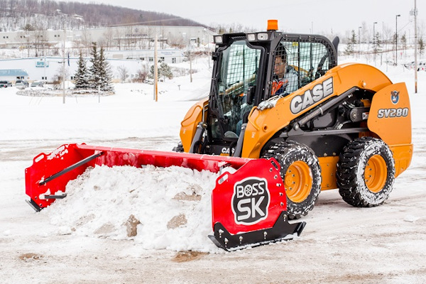 Boss Snowplow | Heavy Equipment | Skid-Steer Box Plows  for sale at Rippeon Equipment Co., Maryland
