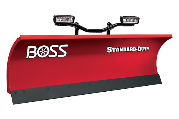 "Boss Snowplow 7'6"" Standard-Duty Steel for sale at Rippeon Equipment Co., Maryland"