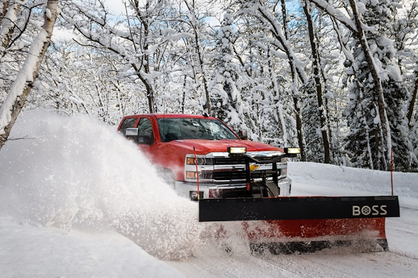 Boss Snowplow | Truck Equipment | Standard-Duty Plows for sale at Rippeon Equipment Co., Maryland