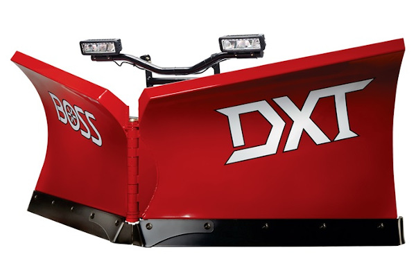 "Boss Snowplow | Tractor Plows | Model DXT 9'2"" Steel / Poly / Stainless for sale at Rippeon Equipment Co., Maryland"