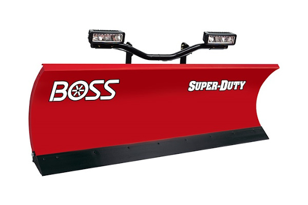 "Boss Snowplow 9'0"" Steel for sale at Rippeon Equipment Co., Maryland"