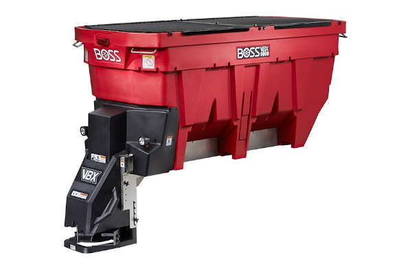 Boss Snowplow VBX9000 Pintle Chain Spreader for sale at Rippeon Equipment Co., Maryland