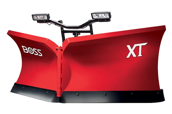 "Boss Snowplow | V XT Plows | Model 8'2"" XT Stainless Steel for sale at Rippeon Equipment Co., Maryland"