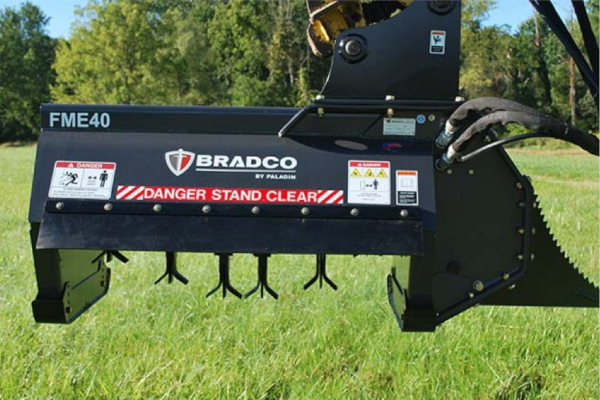 Paladin Attachments | Bradco | Flail Mower for sale at Rippeon Equipment Co., Maryland