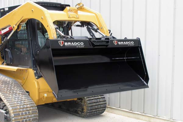 Paladin Attachments Low-Profile Dirt Bucket for sale at Rippeon Equipment Co., Maryland