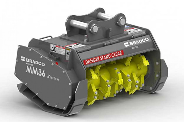 Paladin Attachments | Bradco SS Mulcher II | Model MM36 for sale at Rippeon Equipment Co., Maryland