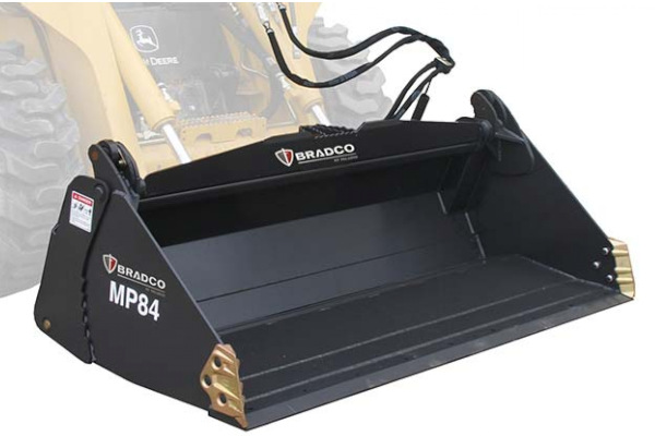 Paladin Attachments | Bradco | Bradco MP SS 4-In-1 Bucket for sale at Rippeon Equipment Co., Maryland