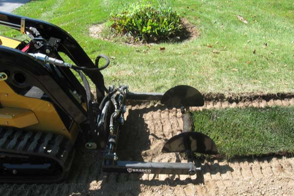 Paladin Attachments | Bradco | Sod Roller, Mini for sale at Rippeon Equipment Co., Maryland