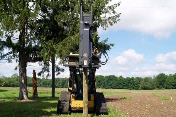 Paladin Attachments | Bradco | Post Driver for sale at Rippeon Equipment Co., Maryland