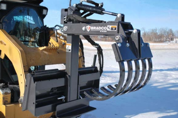 Paladin Attachments | Bradco | Quik Pik Multi-Purpose Grapple for sale at Rippeon Equipment Co., Maryland