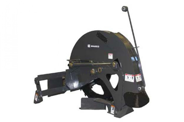 Paladin Attachments | Bradco | Rock Saw for sale at Rippeon Equipment Co., Maryland