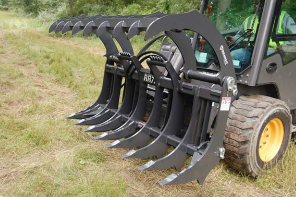 Paladin Attachments | Bradco | Root Rake for sale at Rippeon Equipment Co., Maryland
