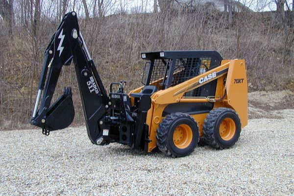 Paladin Attachments | Bradco SS/TR Backhoe | Model Backhoe 511B for sale at Rippeon Equipment Co., Maryland