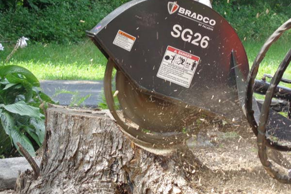 Paladin Attachments | Bradco | Stump Grinder for sale at Rippeon Equipment Co., Maryland