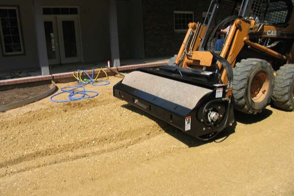 Paladin Attachments | Bradco | Vibratory Roller for sale at Rippeon Equipment Co., Maryland