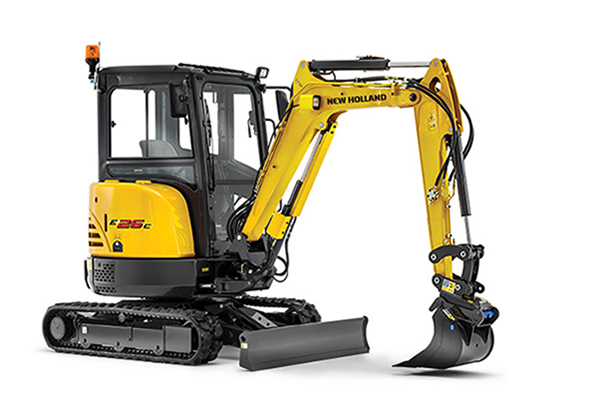 New Holland | Light Construction Equipment | Compact Excavators - C-Series for sale at Rippeon Equipment Co., Maryland