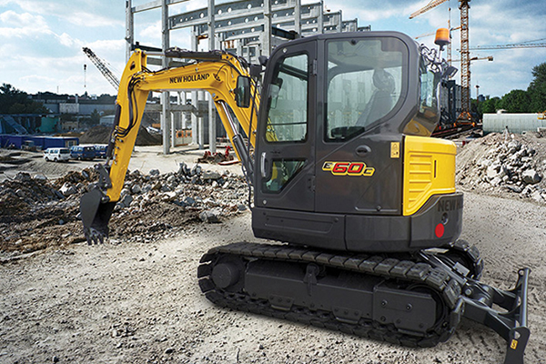 New Holland | Compact Excavators - C-Series | Model E60C for sale at Rippeon Equipment Co., Maryland