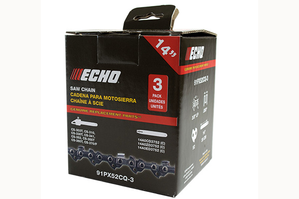Echo | 3-Pack Chains | Model 91PX52CQ-3 for sale at Rippeon Equipment Co., Maryland