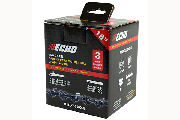 Echo | 3-Pack Chains | Model 91PX57CQ-3 for sale at Rippeon Equipment Co., Maryland