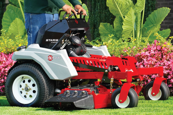 Exmark | Stand-On Mowers | Staris for sale at Rippeon Equipment Co., Maryland