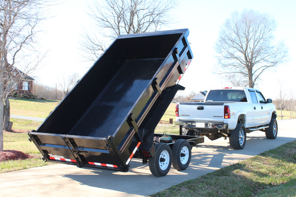 Hudson Brothers | Dump Trailer Series | Model HDC2L for sale at Rippeon Equipment Co., Maryland