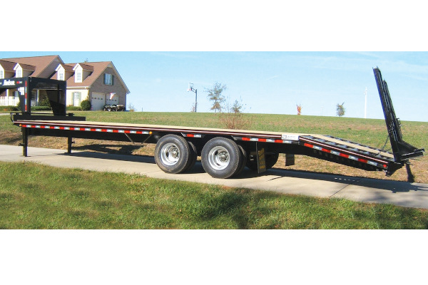 Hudson Brothers | Gooseneck Trailers | Model HTDGE - 9 Ton Capacity for sale at Rippeon Equipment Co., Maryland