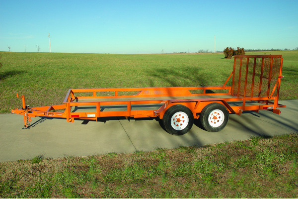 Hudson Brothers | Landscape Trailers | Model HTLG 16 for sale at Rippeon Equipment Co., Maryland