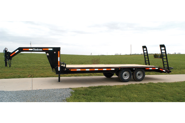 Hudson Brothers | Gooseneck Trailers | Model HTMGH - 6 Ton Capacity for sale at Rippeon Equipment Co., Maryland