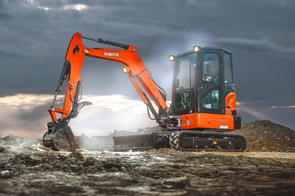 Kubota | Construction Equipment | Compact Excavators for sale at Rippeon Equipment Co., Maryland