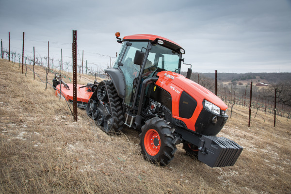 Kubota | M Narrow Series | Model M5N-091 Power Krawler Narrow Cab for sale at Rippeon Equipment Co., Maryland