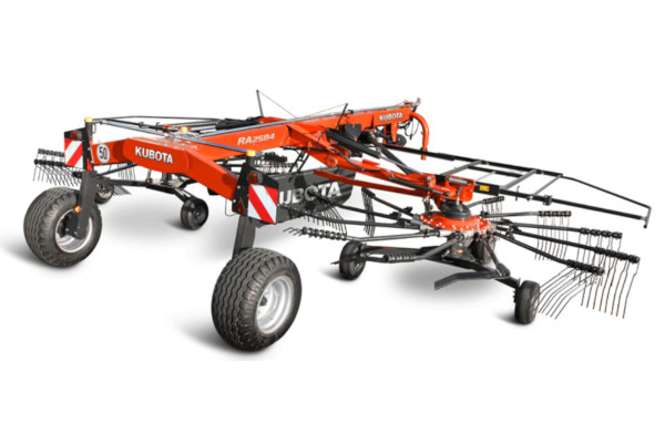 Kubota | RA Series Rotary Rakes | Model RA2072 / RA2076 / RA2584 for sale at Rippeon Equipment Co., Maryland