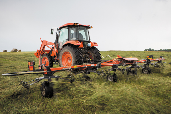 Kubota | Farm Implements | Tedders for sale at Rippeon Equipment Co., Maryland